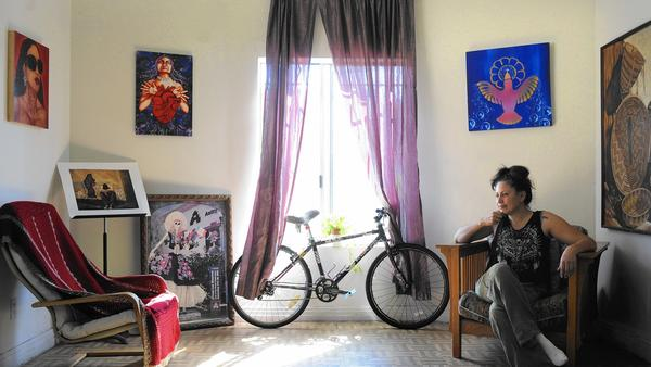 Lilia Ramirez For The Times / Christina House Boyle Heights painter Lilia Ramirez's home is slated for demolition as part of Cielito Lindo's second phase, which is expected to start construction in 2017.